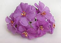 Лилия тканевая сиреневая (цена за 1 цветок)