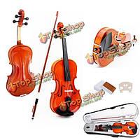 Портативный 4/4 полный размер акустической скрипка с случаем лук канифоли