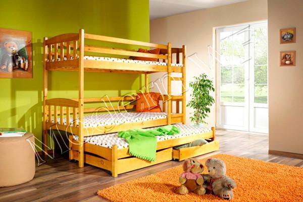 """Двох'ярусне ліжко """"Тріо +"""""""