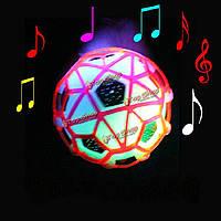 LED Свет прыжки мяч сумасшедшая музыка футбольных детская смешная игрушка подарок