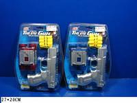 Полицейский набор 3031А (1202) игрушечный пистолет, бинокль, на планш. 27*20см