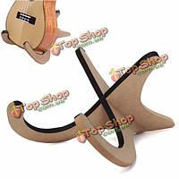 Деревянная складная складная подставка держатель для укулеле мандолины скрипка уке банджо