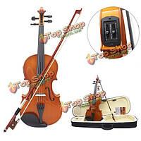 Astonvilla 4/4 твердых электроакустическая скрипки с пикап дело и аксессуары