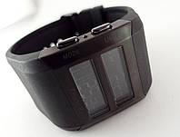 Электронные часы Alberto Kavalli цифровой стиль, стальные, черные