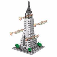 Wisehawk Эмпайр Стейт Билдинг 392шт всемирно известные здания легкие базовые блоки