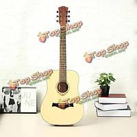 Amari ам-ребенок 34-дюймов палисандр народных акустическая гитара с концерта мешок