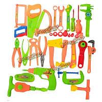 34шт/комплект ребенка раннего обучения и образования детские игрушки инструменты для ремонта игрушки