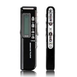 Цифровой диктофон 8 Гб, MP3 плеер, активация голосом. Заводская упаковка.