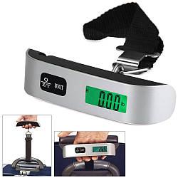 Электронные весы UNIT, безмен с подсветкой, 50 кг.