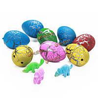 60шт инкубационные яйца динозавров растущие яйца Дино добавить воду волшебный надувные игрушки
