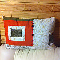 Подушка 70х50см с натуральным наполнителем (овечья шерсть)