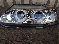 Передние фары на ВАЗ 2115 Ангельские глазки (хром)