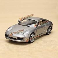 Г 1:35 Porsche 911 Carrera S металлическая модель сплава ветер модель автомобиля игрушка