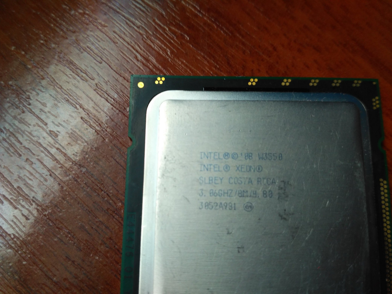 Intel Xeon LGA1366 - W3550 W3530 W3503 E5530 ТОРГ!
