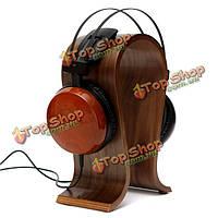 Деревянный U-образный держатель вешалки стенд стойка для гарнитуры наушники наушники