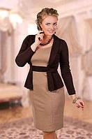 Короткое платье с имитацией пиджака