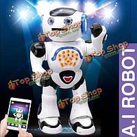JXD 1018i АИ умный робот RC РУ приложение управления игрушка в подарок