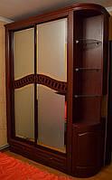 Классический шкаф-купе из МДФ, фото 1
