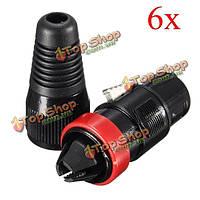 3-контактный XLR женский аудио разъем кабеля адаптера припой микрофон