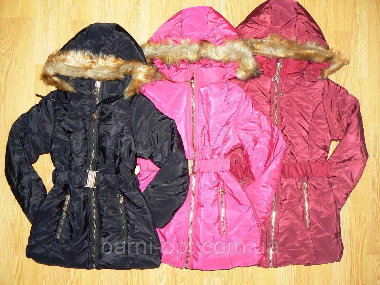 Пальто зимние для девочек оптом, Nice Wear , 6-14 рр