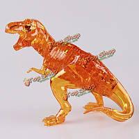 Динозавр 3д пазл головоломка кристаллический