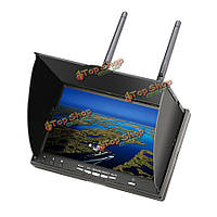 Eachine LCD 5802d 5802 5.8G 40ch 7-дюймов монитор с FPV видеорегистратор построить в батарее