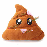Пу смайликов розовый Bowknot кормы смайлик веселье девушка плюшевых чучела диван-кровать куклы