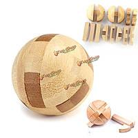 Разведка Любань замок деревянный мозг дразнилка головоломка образовательные игрушки магический шар