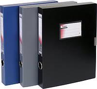 "Папка-коробка ""Axent"" 36мм 1736-01 чорна"