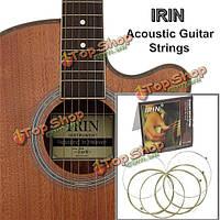 ИРИН A101 (0.012-0.053) со стальным сердечником струны акустическая гитара