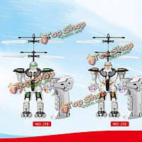 Управления RC дистанционного зондирования летать тяжести робота самолета игрушка подарок