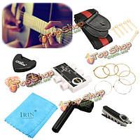 9в1 акустическая гитара аксессуары комплект выбор тюнер ремешок мост контактный строки основного тона