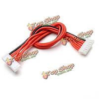 Липо батареи зарядное устройство силиконовый провод удлинитель баланса кабеля 6s (7PIN) к 8s (9PIN) 20см мужчины к мужчине