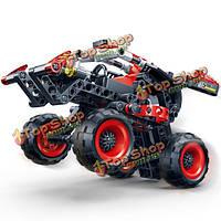 Banbao 207шт гоночный автомобиль модели образования строительных блоков собраны игрушки 6956