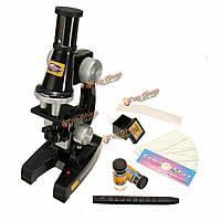 Научный эксперимент eductional микроскоп игрушка комплект оптические принадлежности научная лаборатория