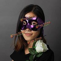 Маскарадные маски позолоченной маски Хэллоуин карнавальные маски партии