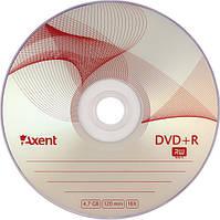 """Диск """"Axent"""" DVD+R 4.7GB/120min 16х50шт, bulk 8108"""