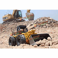 Huina toys1520 шестиканальный 1/14rc металла бульдозер зарядки RC РУ автомобилей