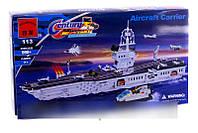 Конструктор Brick 113 Авианосец, 990 деталей AS