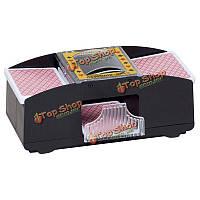 1-2 колоды игральных карт покер автомат пластиковой карты Чисел тасует карты машины