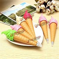 1шт ручка мило новизны мороженого шариковая ручка школа офис Дети игрушка подарок