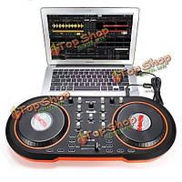 Blacknote середине 100 компьютерная система DJ USB контроллер миди DJ для Mac и ПК