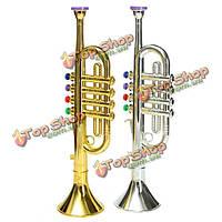Emulational рог труба музыкальный инструмент игрушка в подарок детям