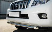 Дуга по бамперу на Toyota Land Cruiser 150