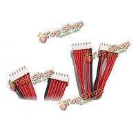 Липо батареи зарядное устройство силиконовые провода расширения баланса кабель 6s 7PIN 30см между мужчинами