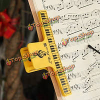 Утолщаются связующее клип фортепиано ноты клип пружинный зажим для фортепиано скрипки гитариста