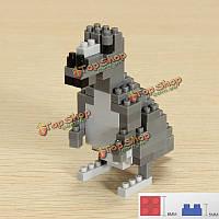 WLtoys Кенгуру 118шт животных блоки образовательные игрушки 6611