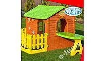 Большой садовый домик  для детей Mochtoys + столик