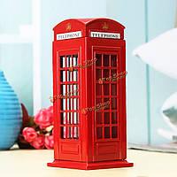Британский английский лондон телефонная будка банк монеты банка экономии горшок копилка коробка