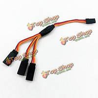 15см 30см тройная 3-удлинитель серво у провод кабель для Futaba